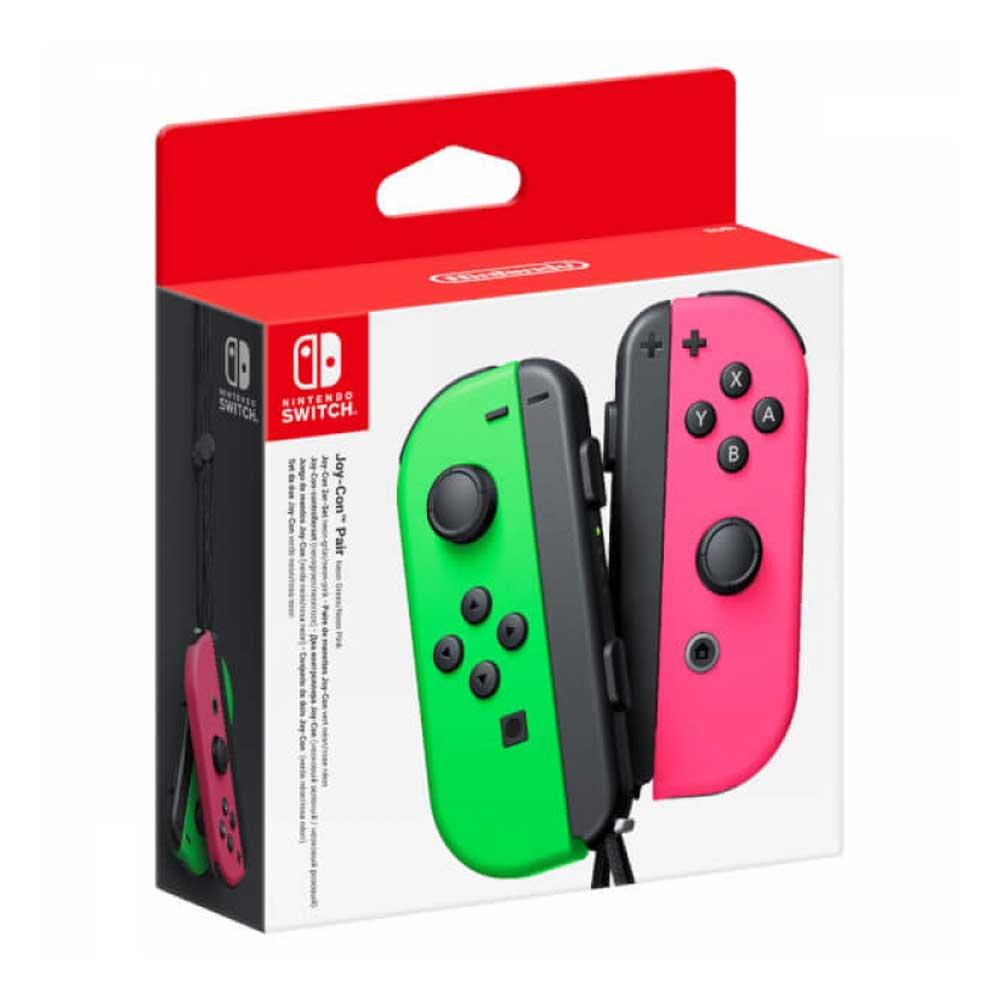 خرید دسته joy con نیتندوسوییچ Nintendo Switch صورتی | سبز