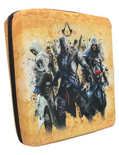 کیف حمل کنسول PS4 مدل Assassins Creed