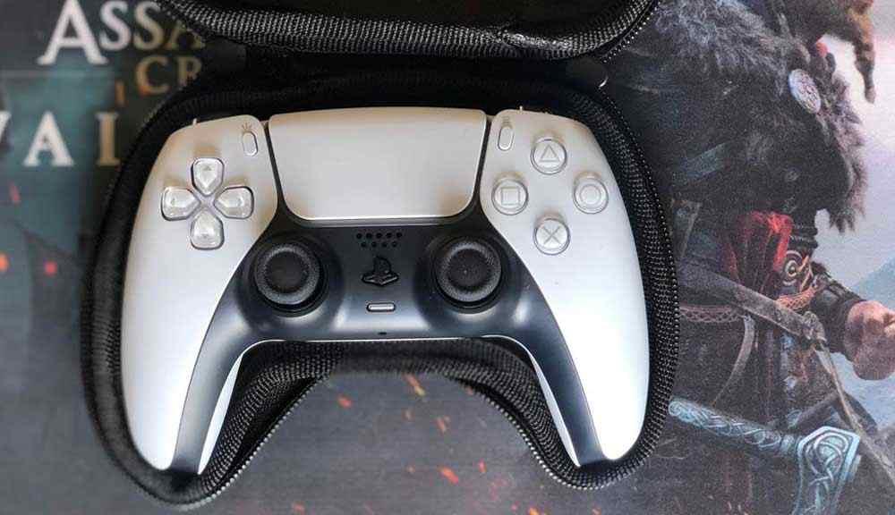 خرید کیف ارتشی دسته بازی PS5 رنگ سبز