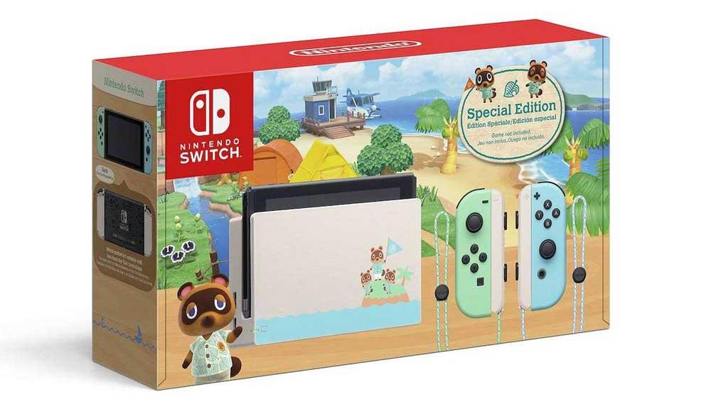 خرید کنسول نینتندو سوییچ باندل Nintendo Switch Animal Crossing
