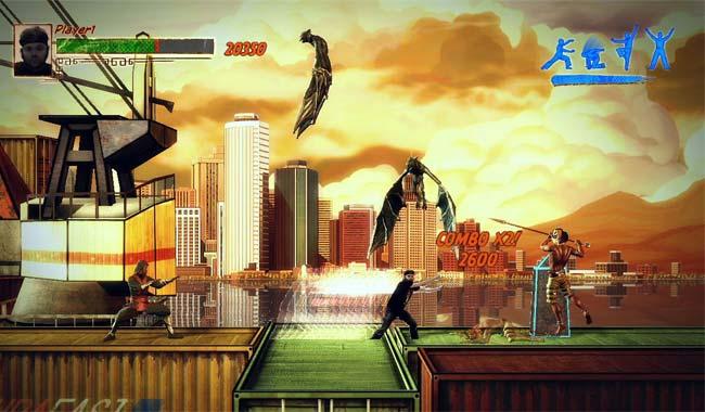 بازی Kung Fu High Impact کنسول ایکس باکس Xbox 360