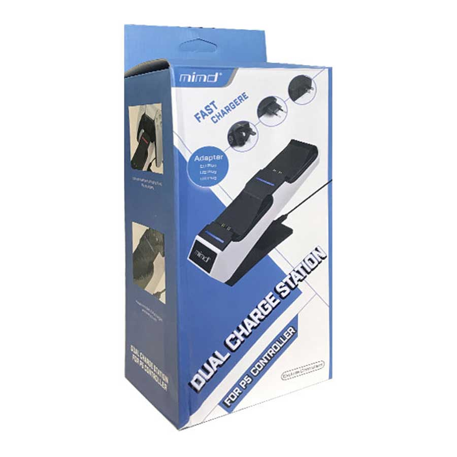 خرید پایه شارژر دسته بازی PS5 مدل Mimd SND 459