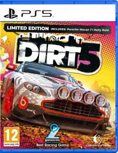 بازی DIRT 5 ویژه کنسول PS5
