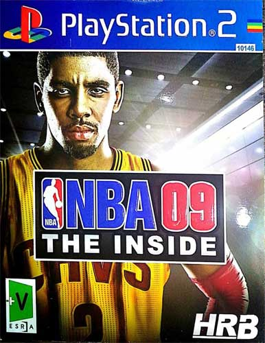 بازی NBA 09 کنسول PS2 نشر HRB