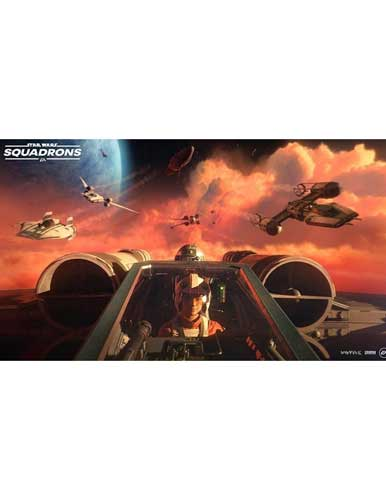 بازی Star Wars Squadrons PS4 کنسول PS4