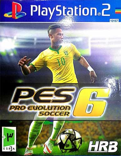 بازی PES 6 کنسول PS2 نشر HRB