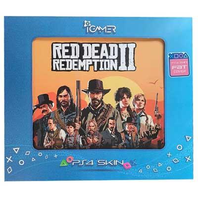 خرید برچسب کنسول PS4 FAT مدل RED DEAD