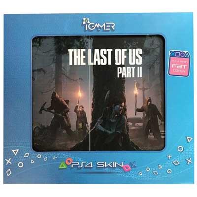 خرید برچسب کنسول PS4 FAT مدل Last Of Us