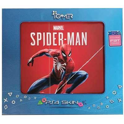 خرید برچسب کنسول PS4 FAT مدل Spiderman