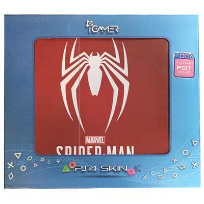 خرید برچسب کنسول PS4 FAT مدل Spider man