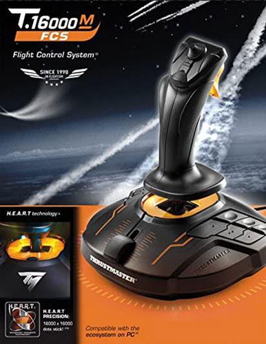 دسته بازی خلبانی THRUSTMASTER مدل T.16000M FCS