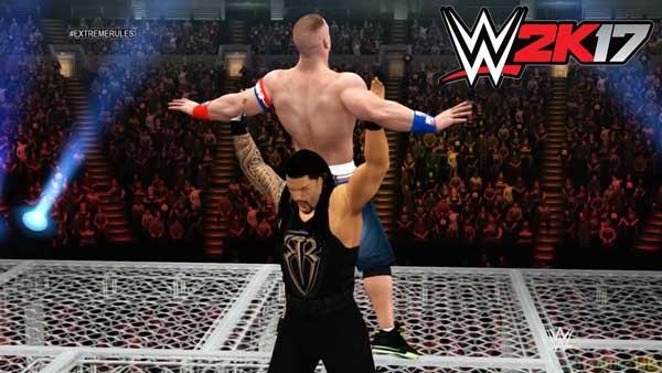 بازی WWE 2K17 Xbox 360