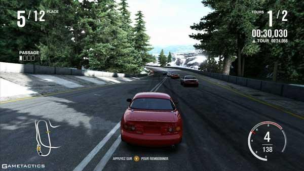 تنوع خودروها در بازی ایکس باکس 360 Forza Motorsport 4