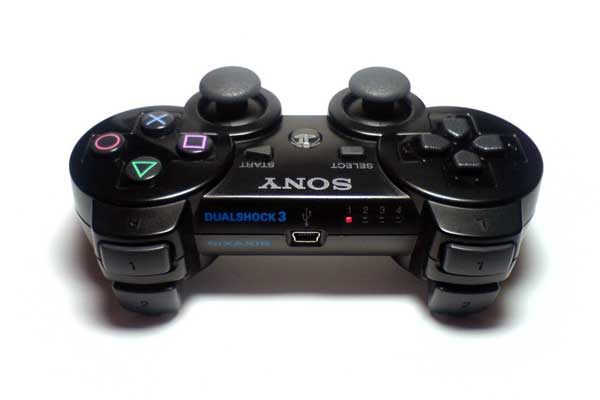 17کلید با کیفیت در گیم پد پلی استیشن 3 وایرلس اورجینال Sony PlayStation 3 DualSHock Gamepad