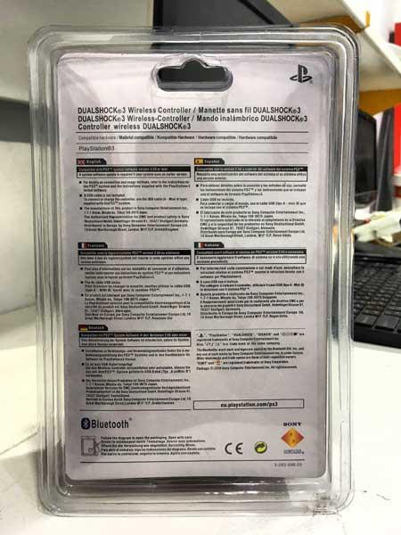 اطلاعات کامل گیم پد پلی استیشن 3 وایرلس اورجینال Sony PlayStation 3 DualSHock Gamepad