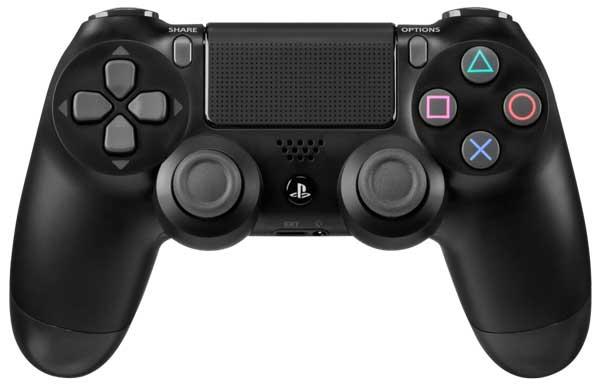 طراحی دسته بازی پلی استیشن 4 دوال شاک مشکی DualShock PS4 Wireless Controller