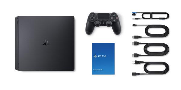 کنسول بازی سونی اسلیم 500 گیگابایت ریجن 2 اروپا PlayStation 4 Slim 500GB Console