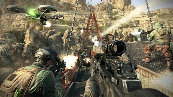 گرافیک بازی کامپیوتری Call Of Duty Black Ops 2