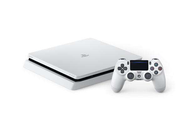 کنسول پلی استیشن 4 اسلیم 500 گیگابایت ریجن 2 سفید Playstation 4 Slim Glacier White CUH-2016A