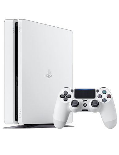 Playstation 4 Slim Glacier White CUH-2016A