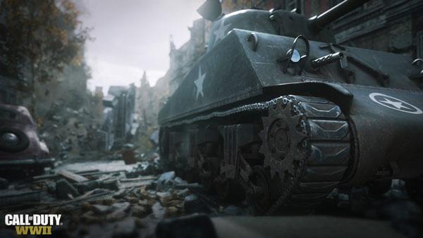 محیطهای پویای بازی کامپیوتری Call of Duty WWII