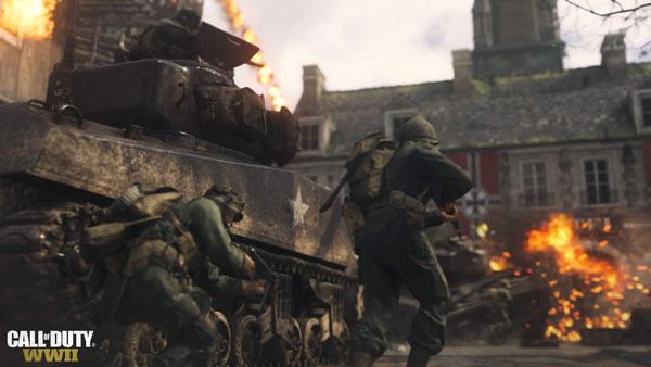 گیم پلی بخش بازی کامپیوتری Call of Duty WWII
