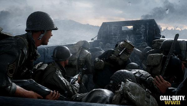 روایت عالی داستان در روند بازی کامپیوتری Call of Duty WWII