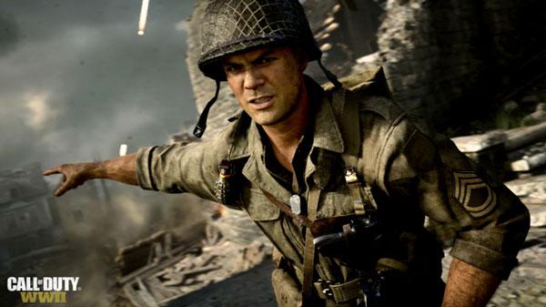 گرافیک عالی بازی کامپیوتری Call of Duty WWII