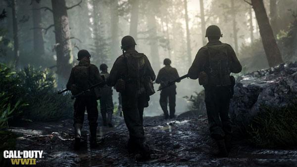 بخش چند نفره عالی بازی کامپیوتری Call of Duty WWII