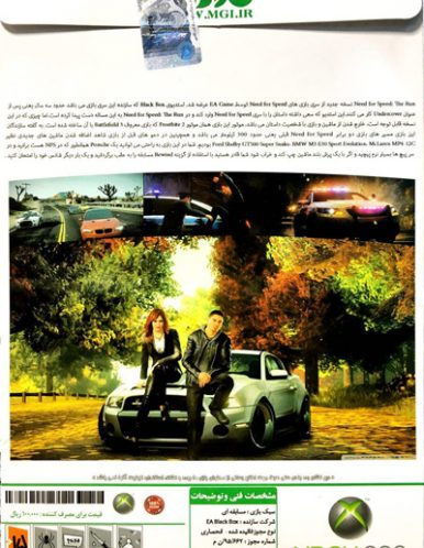 Need for Speed The Run ایکس باکس 360