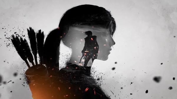 ماگ گیمینگ طرح Rise Of The Tomb Raider