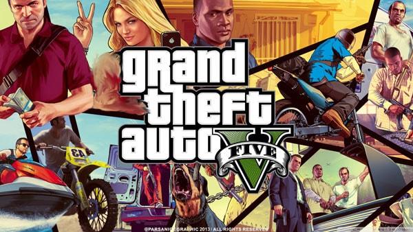 ماگ گیمینگ طرح Grand Theft Auto 5