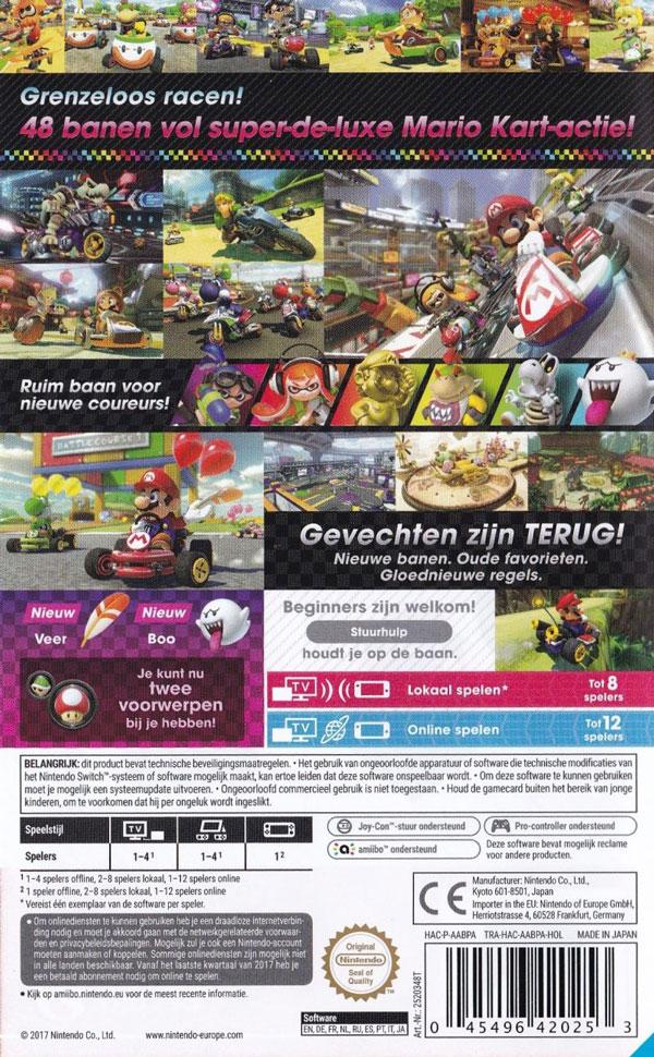 بازی Mario Kart Deluxe 8 Nintendo Switch Game کنسول Nintendo Switch