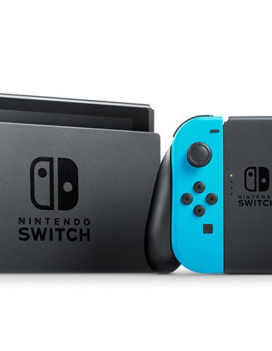 کنسول بازی نینتندو سوییچ سری جدید مدل Neon Blue and Red Joy Con