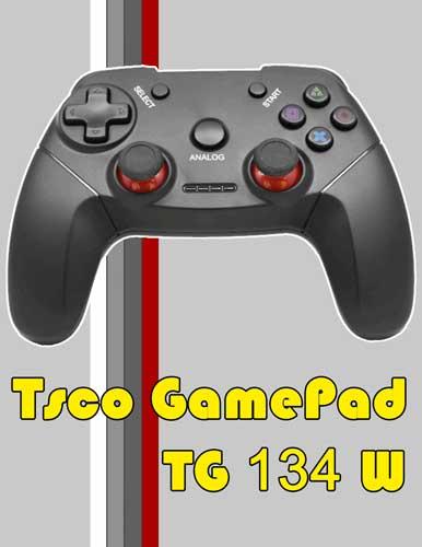 دسته بازي وایرلس Tsco TG 134W