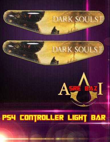 لایت بار ژله ای رنگی 2 تایی گیم پد پلی استیشن 4 طرح (Dark Souls 3)