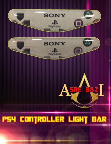 لایت بار ژله ای رنگی 2 تایی گیم پد پلی استیشن 4 طرح (Sony)