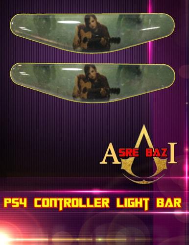 لایت بار ژله ای رنگی 2 تایی گیم پد پلی استیشن 4 طرح (Tomb Raider)