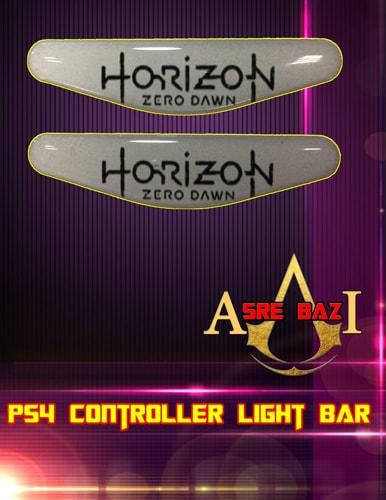 لایت بار ژله ای رنگی 2 تایی گیم پد پلی استیشن 4 طرح (Horizon Zero Dawn)