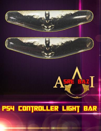 لایت بار ژله ای رنگی 2 تایی گیم پد پلی استیشن 4 طرح (Batman)