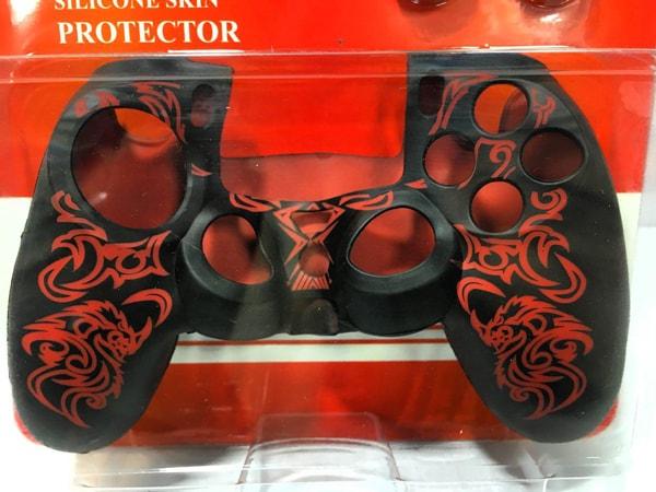 روکش محافظ دسته پلی استیشن 4 Red Dragon Silicone Cover