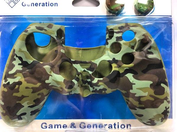روکش محافظ دسته پلی استیشن 4 طرح ارتشی سبز Green War Silicone