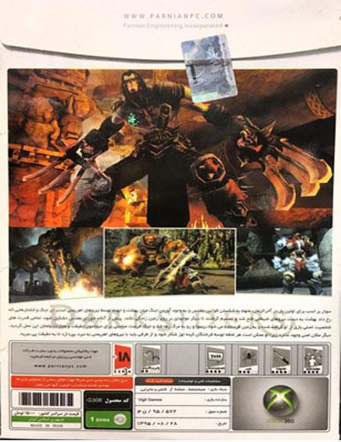 بازی Darksiders Xbox 360