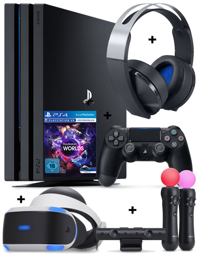 -VR full bundle -playstation-4-pro