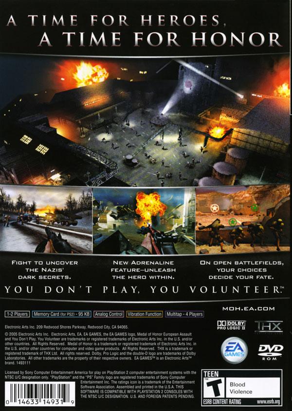 بازی Medal of Honor ویژه کنسول PS2