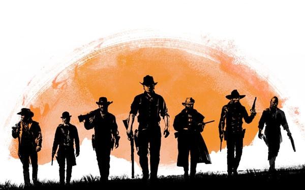 ماگ گیمینگ طرح Red Dead