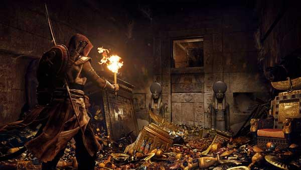 روایت داستان در بازی Assassin's Creed Origins
