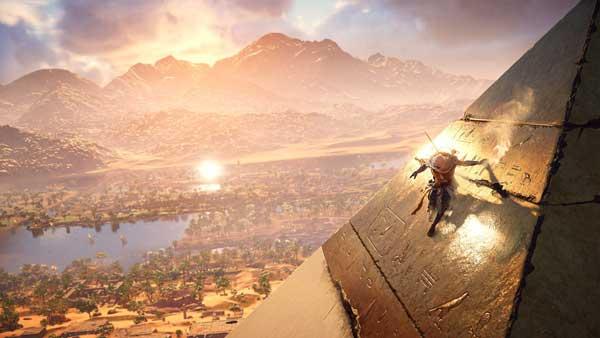 گرافیک Assassin's Creed Origins یک نقاشی هنری ارزشمند از مصر باستان است در بازی Assassin's Creed Origins