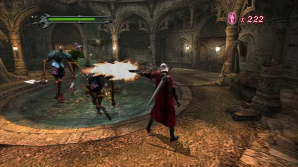 سلاح ها و نبردهای مختلف جذاب بازی پلی استیشن 4 Devil May Cry HD Collection