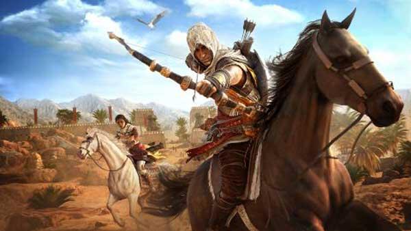 تنوع در گیم پلی و سلاح ها در بازی Assassin's Creed Origins